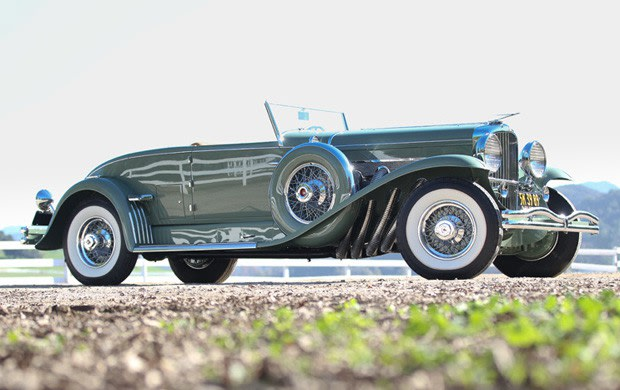 1933 Duesenberg Model J Disappearing-Top Convertible Coupe