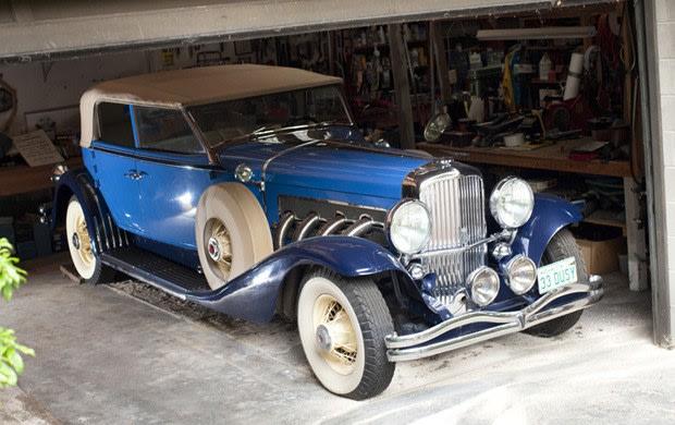 1933 Duesenberg SJ LWB Convertible Berline