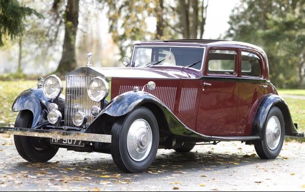1933 Rolls-Royce Phantom II Continental Sports Saloon