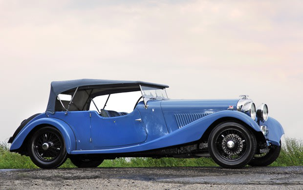 1934 Bentley 3 1/2 Litre Sports Tourer