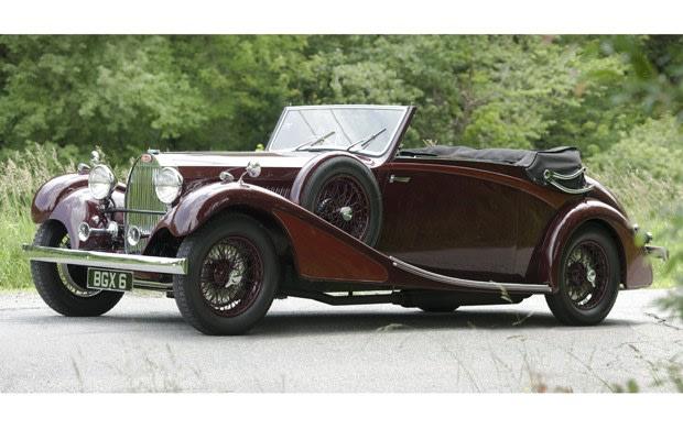 1934 Bugatti Type 57 Cabriolet