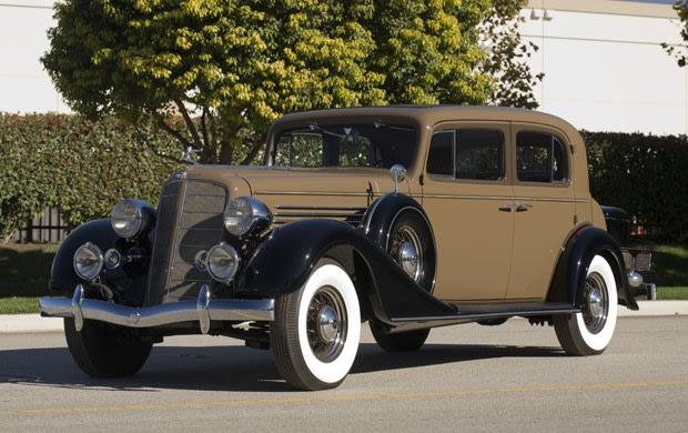 1934 Buick Model 91 Club Sedan