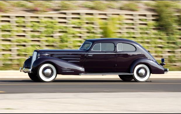 1934 Cadillac Model 452D V-16 Aerodynamic Coupe