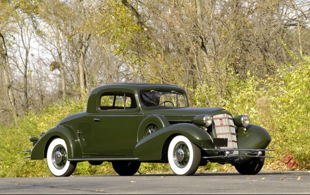 1934 Cadillac V-8 355D Rumble Seat Coupe