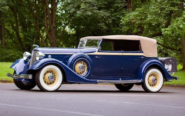 1934 Lincoln KB Convertible Sedan(1)