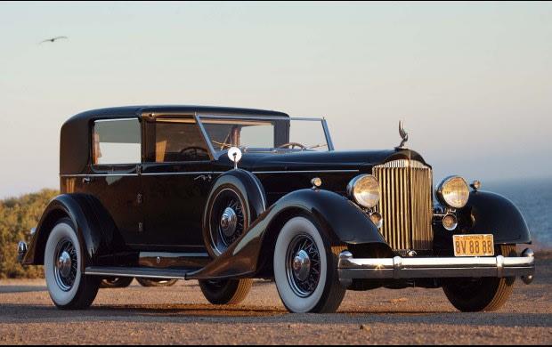 1934 Packard 1108 Twelve Town Car
