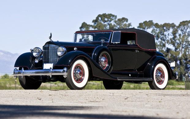 1934 Packard Twelve Model 1107 Convertible Victoria