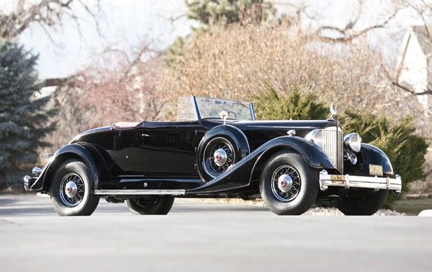 1934 Packard Twelve Model 1107 Coupe Roadster
