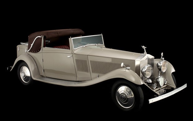 1934 Rolls-Royce Phantom II Continental Drop Head Coupe
