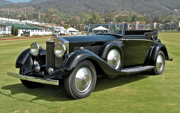 1934 Rolls-Royce Phantom II Continental Three-Position Sedanca Coupe