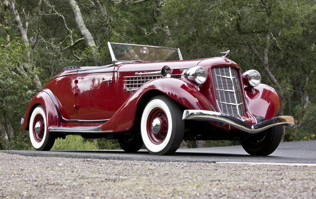 1935 Auburn 851 Supercharged Cabriolet