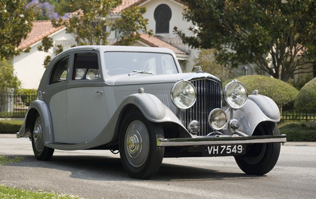 1935 Bentley 3 1/2 Litre Aerodynamic Sports Saloon