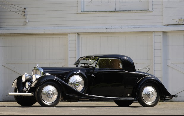 1935 Bentley 3.5-Liter Three-Window Coupe