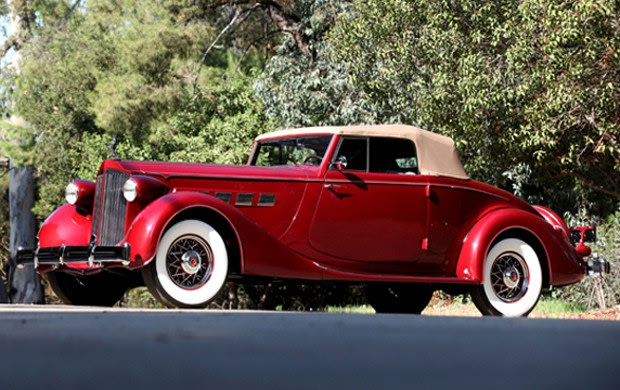 1935 Packard Super Eight Model 1204 Coupe Roadster