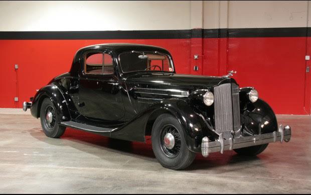 1935 Packard Twelve Model 1207 Coupe