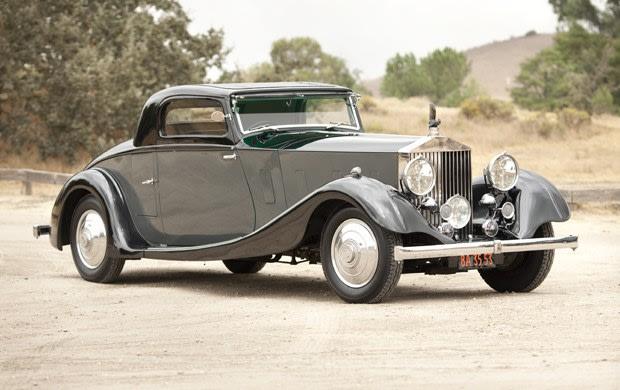 1935 Rolls-Royce Phantom II Fixed Head Coupe