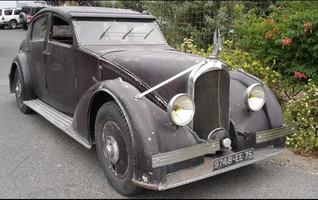 1935 Voisin C25 Clairière Berline-2