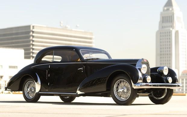 1936 Bugatti Type 57 Pillarless Coupe