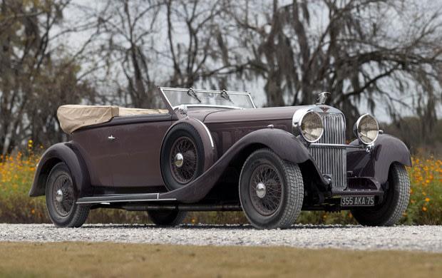 1936 Hispano-Suiza Type 68 J12 Cabriolet
