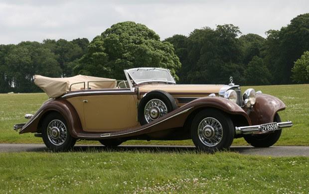 1936 Mercedes-Benz 500K Cabriolet B