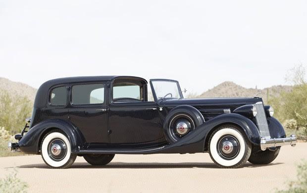 1936 Packard Twelve 1408 All-Weather Town Car
