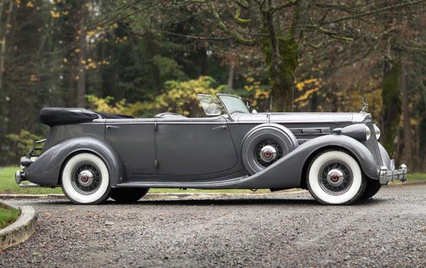 1936 Packard Twelve Dual-Windshield Phaeton