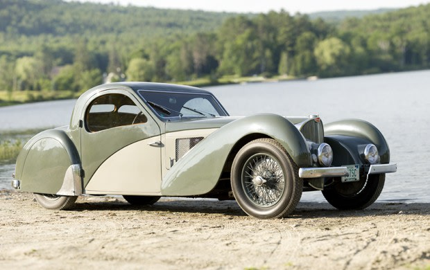 1937 Bugatti Type 57SC Atalante Coupe