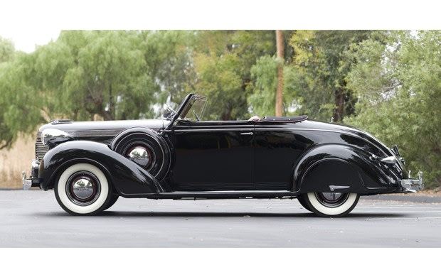 1937 Chrysler Imperial Convertible Coupe