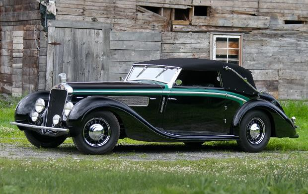 1937 Delage D8-120 Deltasport Three-Position Cabriolet
