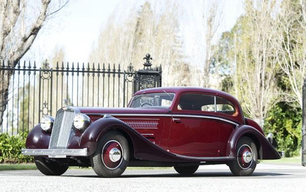 1937 Hispano-Suiza K6 Coach Mouette