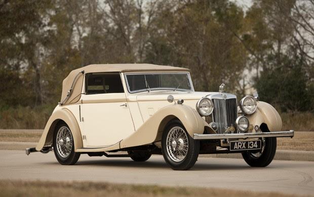 1937 MG SA Drop Head Coupe