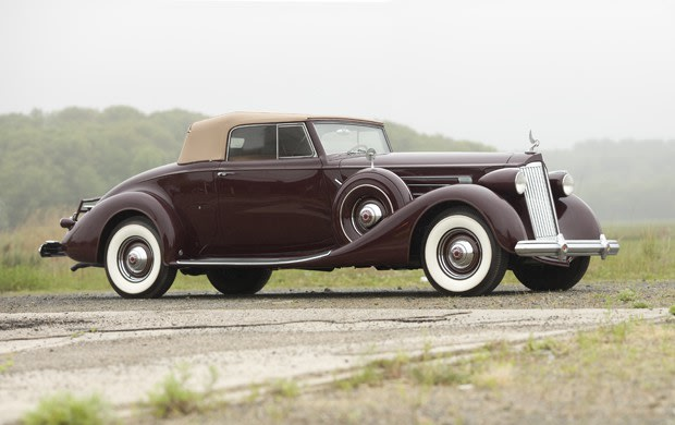 1937 Packard Model 1507 Convertible Coupe