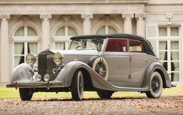 1937 Rolls-Royce Phantom III Cabriolet