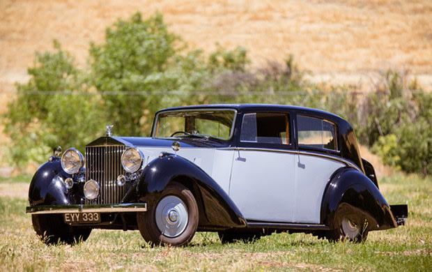 1937 Rolls-Royce Phantom III Saloon