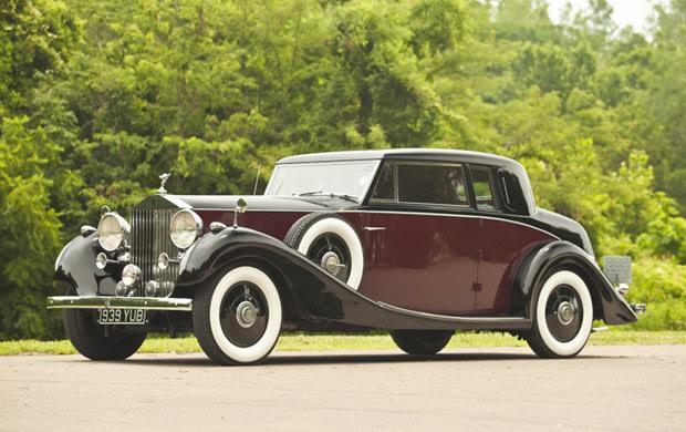 1937 Rolls-Royce Phantom III Special Henley Coupe