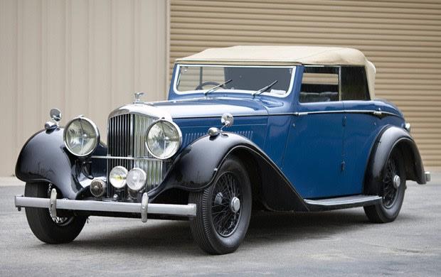 1938 Bentley 4 1/4 Litre All-Weather Cabriolet