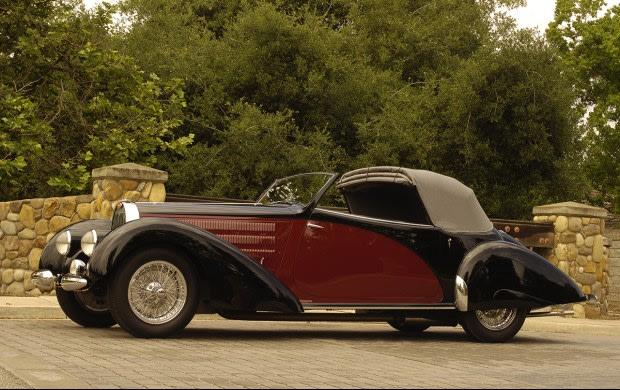 1938 Bugatti Type 57 Cabriolet-1