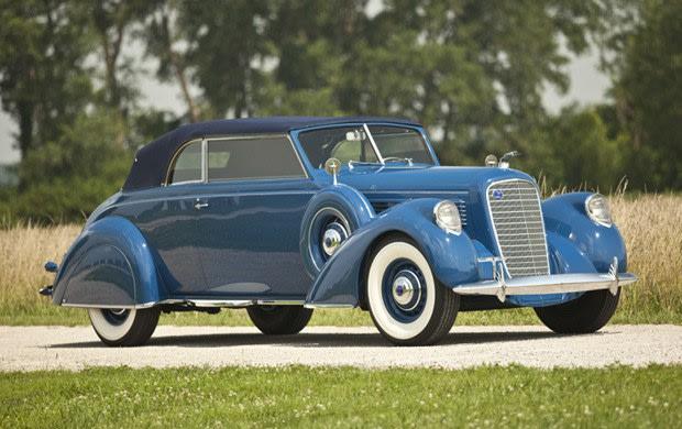 1938 Lincoln Model K Convertible Victoria