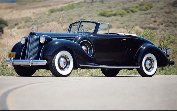 1938 Packard 1607 Twelve Convertible Coupe
