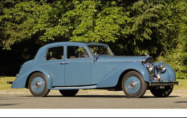 1939 Bentley 4-1/4 Liter Vanvooren Pillarless Saloon