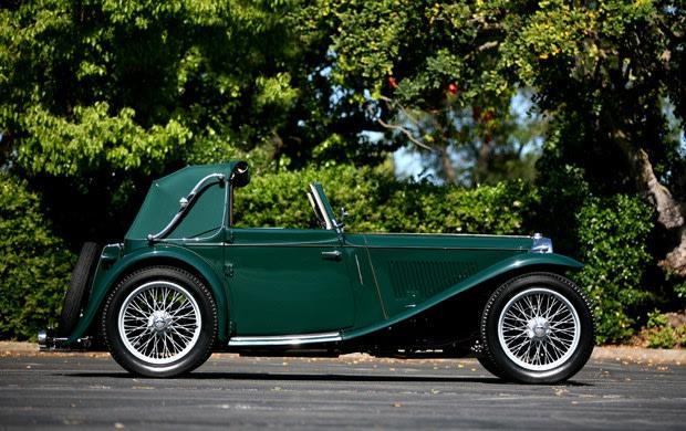 1939 MG TB Tickford