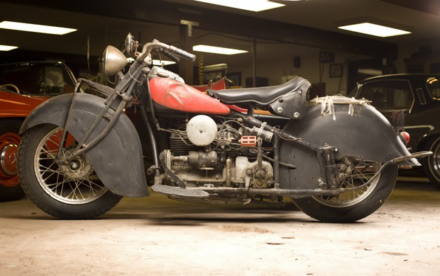 1940 Indian Model 440 with Sidecar
