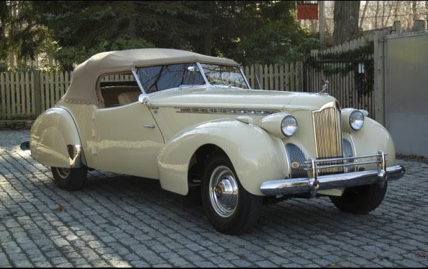 1940 Packard Custom Super Eight One-Eighty Convertible Victoria