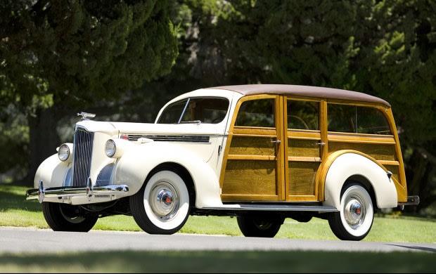 1940 Packard One-Ten Station Wagon