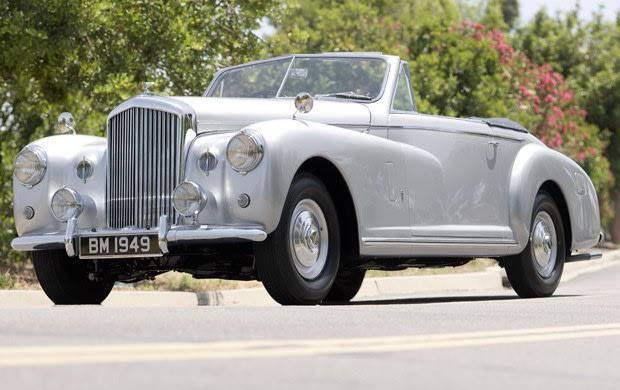 1949 Bentley Mk VI Cabriolet Speciale by Pinin Farina