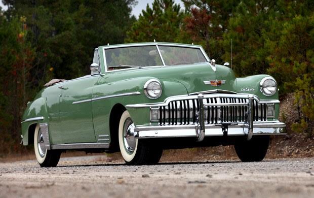 1949 DeSoto Series S-13 Custom Convertible Coupe
