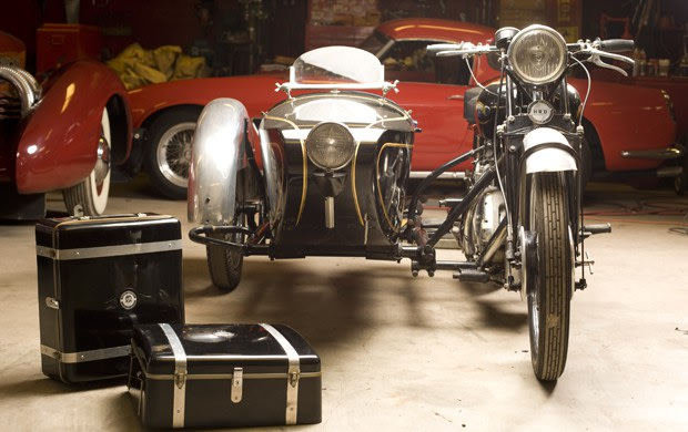 1949 Vincent Series C Rapide with Sidecar