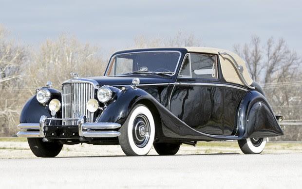 1950 Jaguar Mark V 3 1/2 Litre Drop Head Coupe