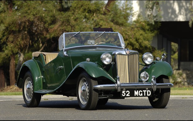 1952 MG TD-2