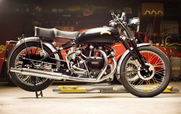 1952 Vincent Series C Black Shadow